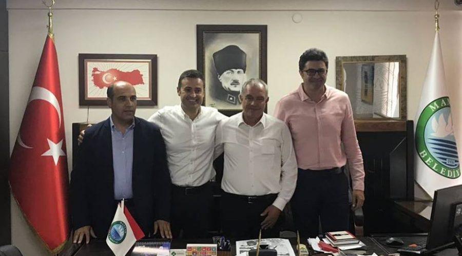 Balıkesir Milletvekilleri Ahmet Akın, Ensar Aytekin ve Fikret Şahin'den Başkana Ziyaret